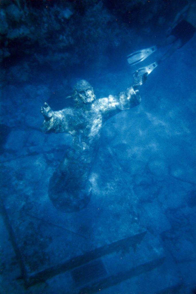"Статуя ""Христос Бездны"" (Christ of the Abyss), Флорида, США"